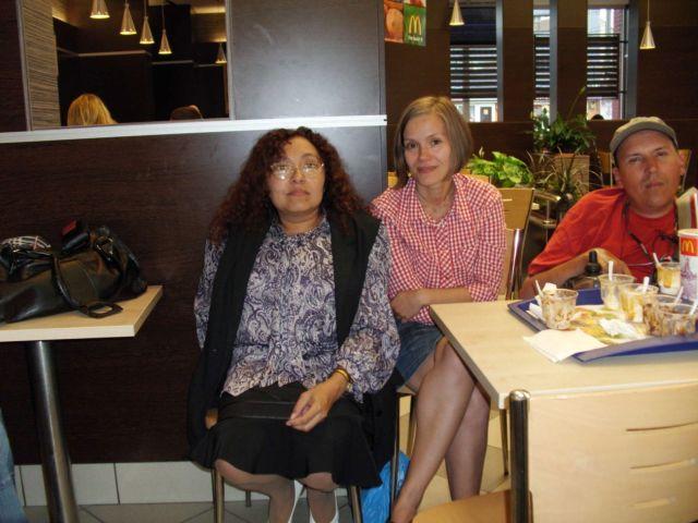 Erika, Anca şi io :D